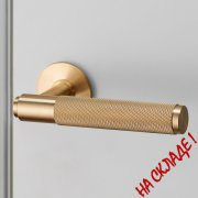 DOOR LEVER HANDLE / BRASS UK-LH-S-38-BR-A