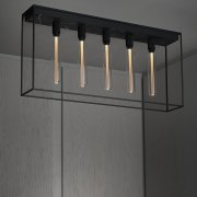 CAGED CEILING 5.0 / SATIN BLACK MARBLE EU-CGC-5-SBM-A