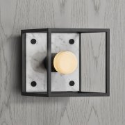 CAGED WALL 1.0 / S / POLISHED WHITE MARBLE EU-CGW-S-PWM-A