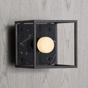 CAGED WALL 1.0 / S / SATIN BLACK MARBLE EU-CGW-S-SBM-A