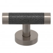 SHAGREEN CABINET T BAR FIXED DEAD RECESS AMALFINE P3016-FIXED-AP-SN